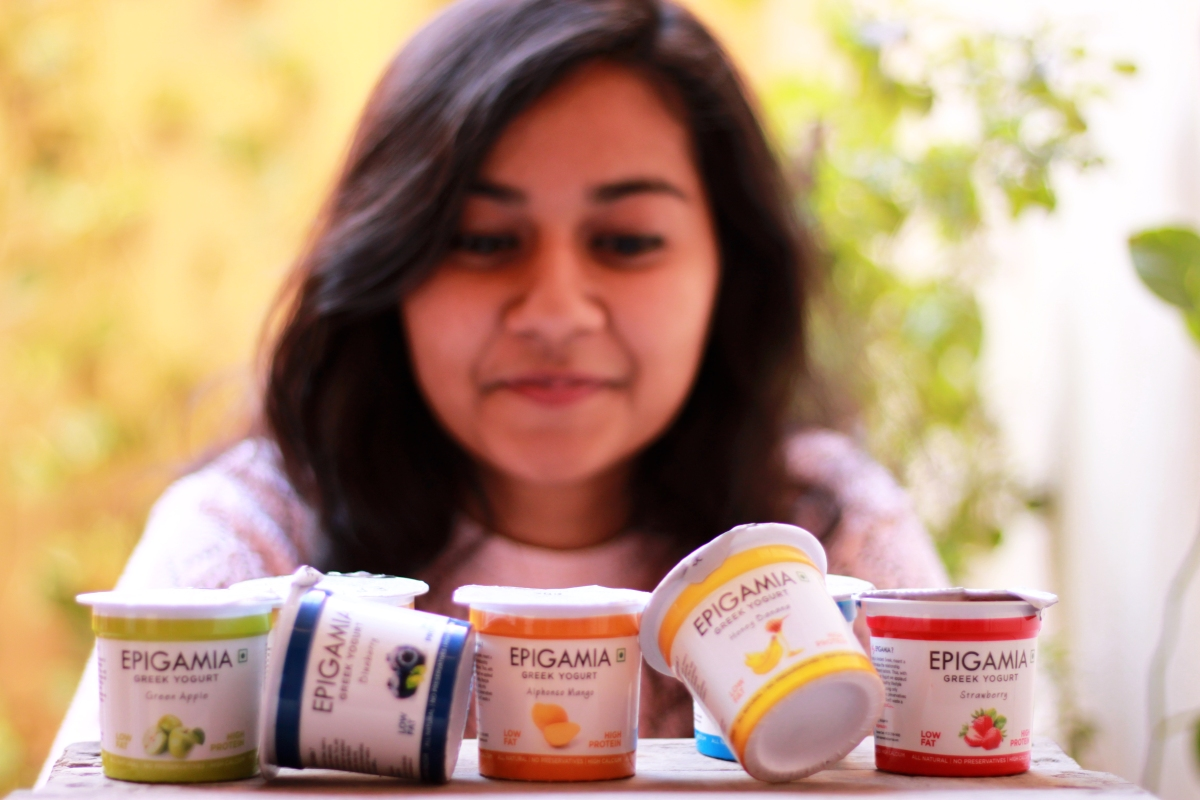 Review: Epigamia (Greek yogurt)