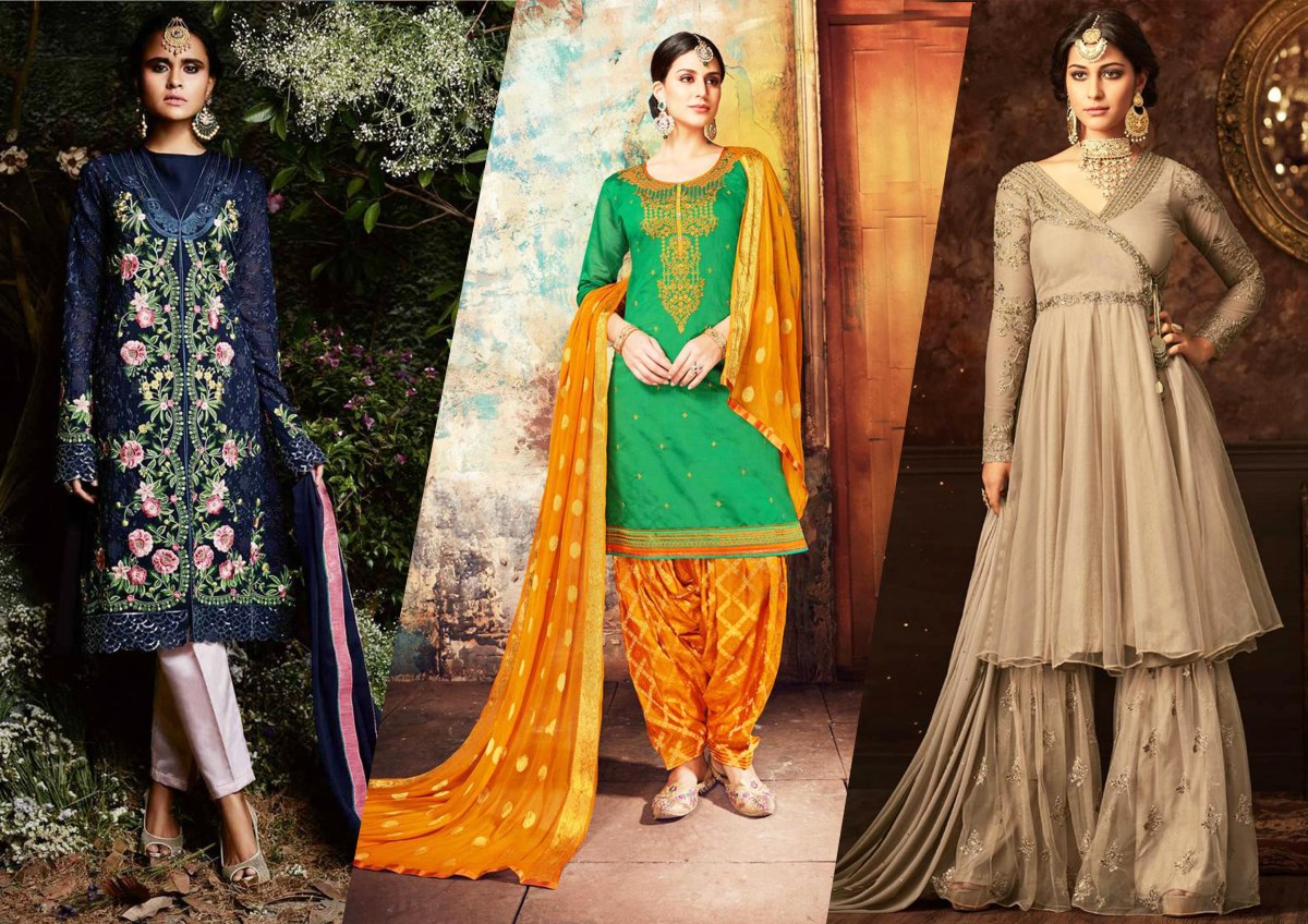 8 Most Popular Types of Salwar